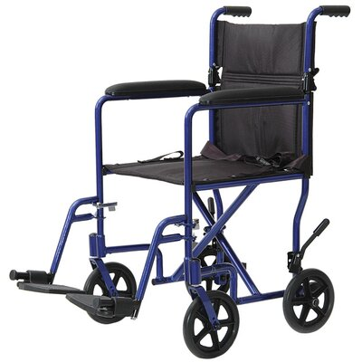 ProBasics Aluminum Lightweight Bariatric Transport Wheelchair
