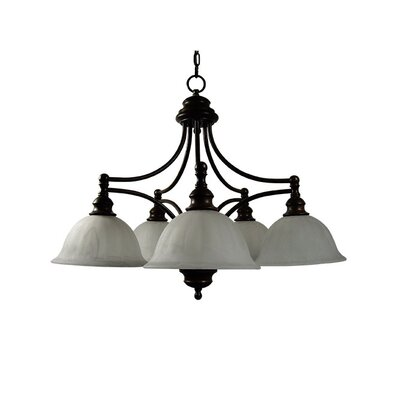 Broadleaf 5 Light Chandelier
