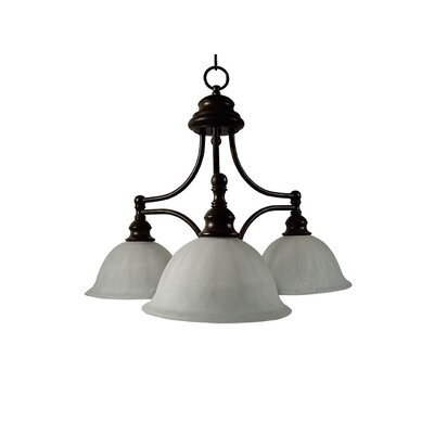 Broadleaf 3 Light Chandelier
