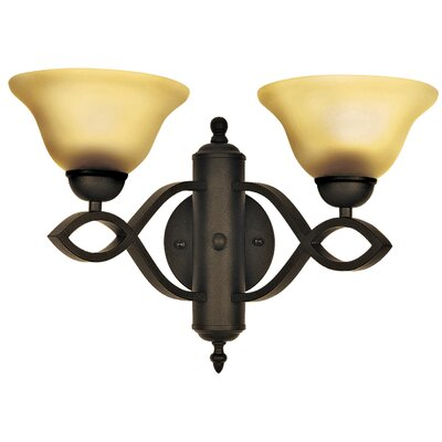 Yosemite Home Decor Vernal Falls 2 Light Wall Sconce