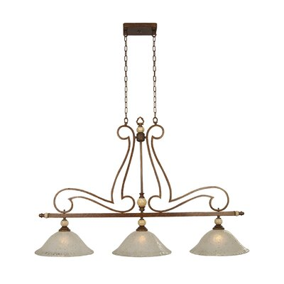 Yosemite Home Decor Alina 3 Light Kitchen Island Pendant