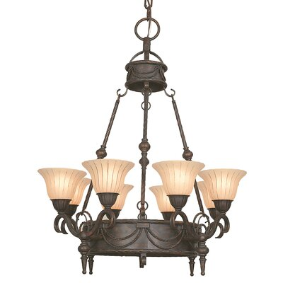 Scalloped Shade Chandelier Wayfair