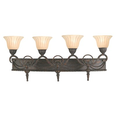 Yosemite Home Decor Isabella 4 Light Vanity Light