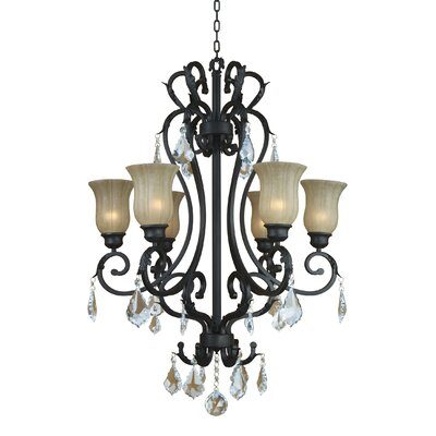 Jessica 6 Light Chandelier