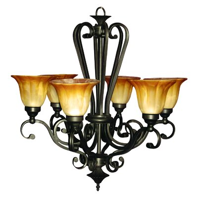 Yosemite Home Decor Florence Light Chandelier