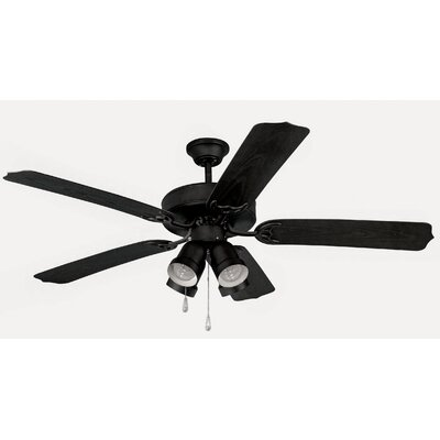 "Yosemite Home Decor 52"" Sharon 5 Blade Ceiling Fan"