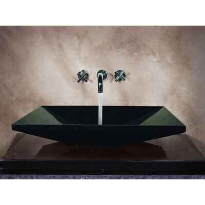 Yosemite Home Decor Ronat Hand Carved Euro Vessel Bathroom Sink