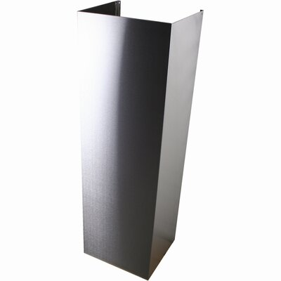 "Yosemite Home Decor 79"" Stainless Flue-Extension"