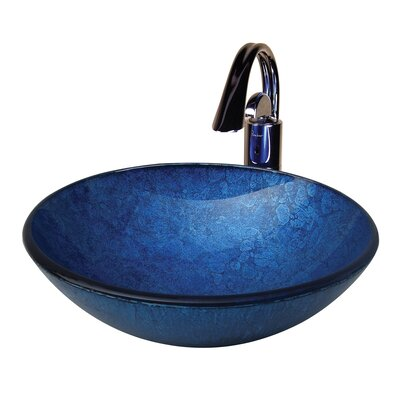 Royal Round Glass Bathroom Sink - CAMDEN