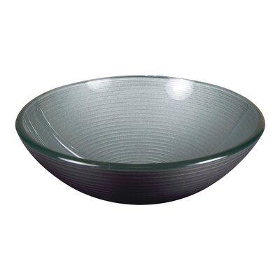 Round Glass Bathroom Sink - PEARL