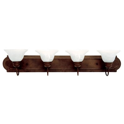 Yosemite Home Decor 4 Light Bath Vanity Light