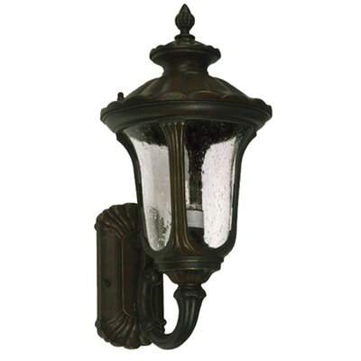 Yosemite Home Decor Tori 3 Light Outdoor Wall Lantern