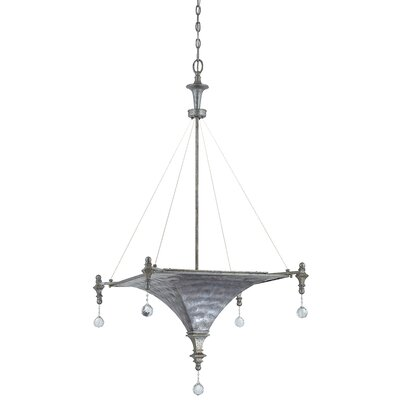 Capiz 3 Light Pendant