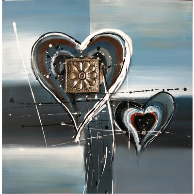 Revealed Art Heartening I Original Painting on Canvas