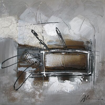 Revealed Art Informality III Original Painting on Canvas