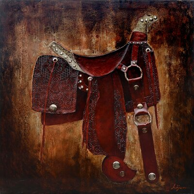 Revealed Art Let's Ride I Original Painting on Canvas
