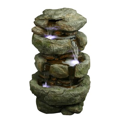 Yosemite Home Decor Tiered Rock Fountain