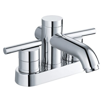 Yosemite Home Decor Two Handle Centerset Bathroom Faucet