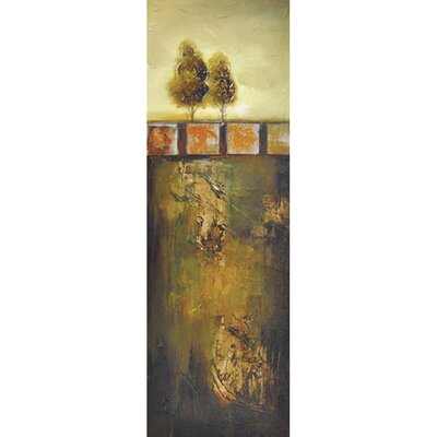 Revealed Art Golden Oak II Original Painting on Canvas