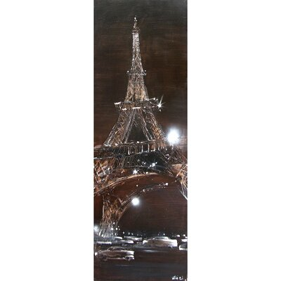Yosemite Home Decor Sparkling Eiffel Canvas Art