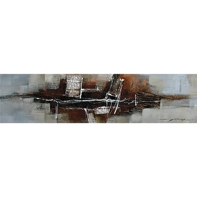 Abstract City II Canvas Art