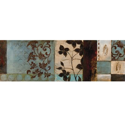 Pressed Flowers I Canvas Art