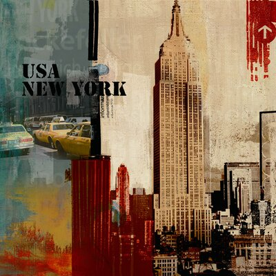 Yosemite Home Decor Big Apple Canvas Art