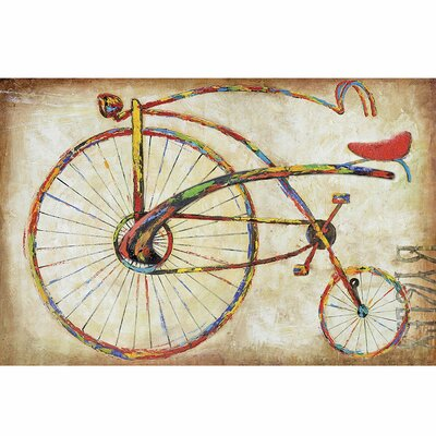 "Yosemite Home Decor Bicycle Fun I Wall Art - 47"" x 31"""
