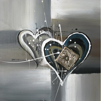 Revealed Art Heartening II Original Painting on Canvas