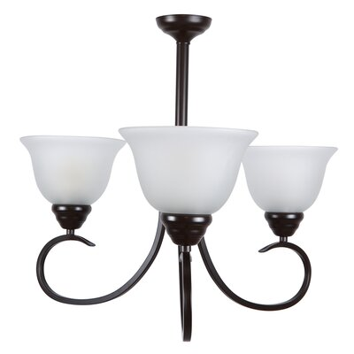 Aulin 3 Light Chandelier