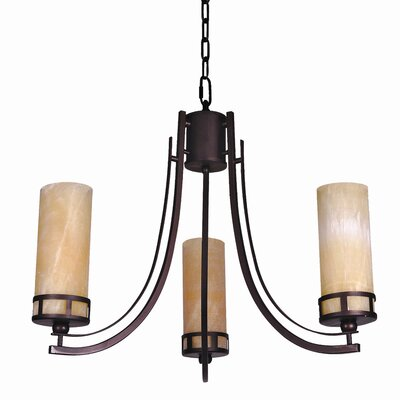 Harlequin 3 Light Chandelier