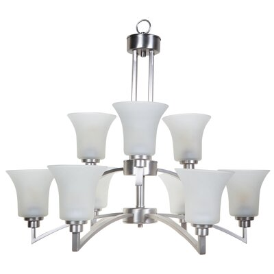 Yosemite Home Decor Aldridge 9 Light Chandelier