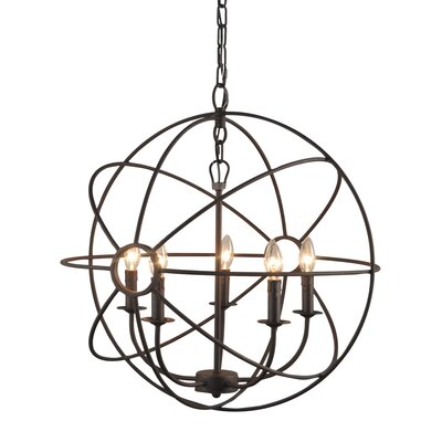 Constance 5 Light Chandelier