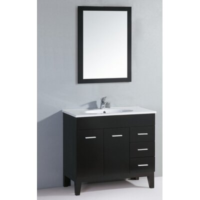 Black Bathroom Vanity Set | Wayfair