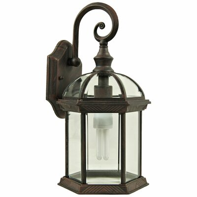 Yosemite Home Decor Anita 1 Light Outdoor Wall Lantern
