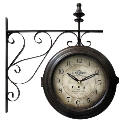 yosemite home decor wall clock reviews wayfair