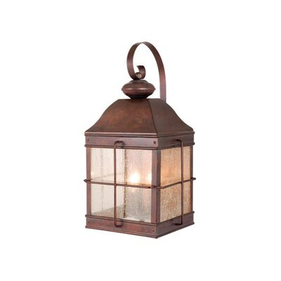 Vaxcel Revere Outdoor 3 Light Wall Lantern