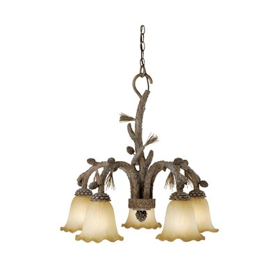 Aspen 5 Light Chandelier