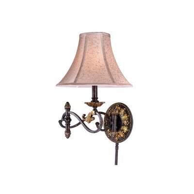Vaxcel Caesar Swing Arm Wall Sconce