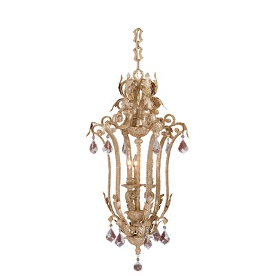Vaxcel Empire 3 Light Foyer Pendant