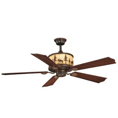 Vaxcel Yellowstone 5 Blade Ceiling Fan