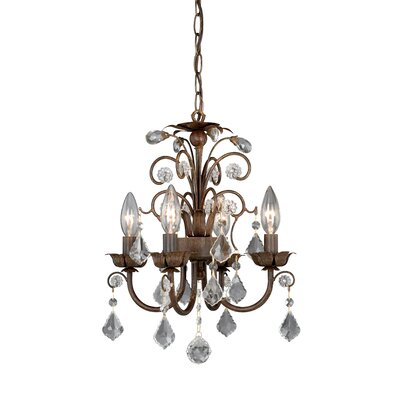 Vaxcel 4 Light Mini Chandelier & Reviews