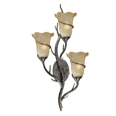 Vaxcel Monterey 3 Light Wall Sconce
