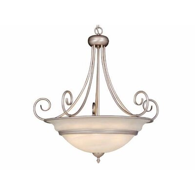 Vaxcel Da Vinci 6 Light Inverted Pendant