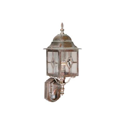 Vaxcel Mulberry Outdoor Wall Lantern in Royal Bronze
