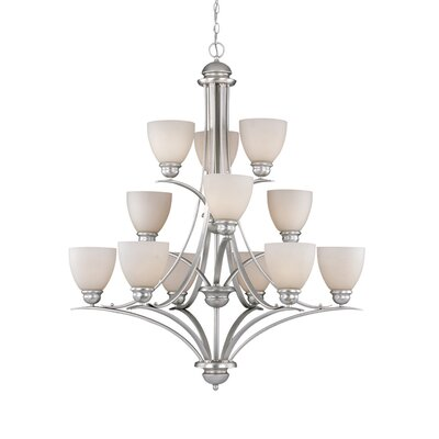 Vaxcel Avalon 12 Light Chandelier