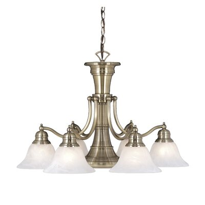 Vaxcel Standford 6 Light Chandelier