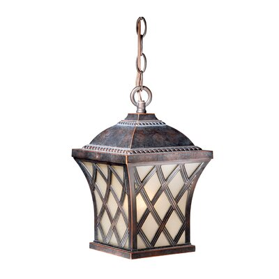 Vaxcel Yorkshire 1 Light Outdoor Pendant