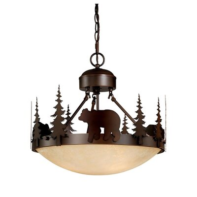 Bozeman 3 Light Inverted Pendant