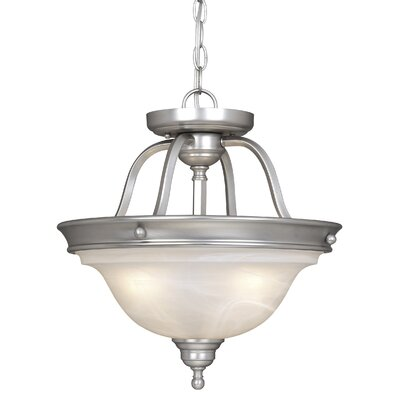 Vaxcel Lasalle 3 Light Convertible Pendant